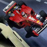 Michael Schumacher wins his 16th GP for Ferrari at Monaco in 1999. Ferrari Scuderia F399.